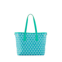 Liberty LondonMarlborough Iphis Printed Little Tote Bag, Green