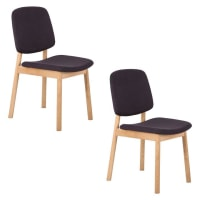 Life InteriorsWhyWood Dining Chair, Charcoal