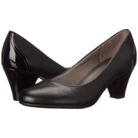 Life StrideGarcia (Black Smooth) High Heels