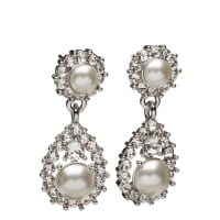 Lily and RoseSofia Pearl Earrings Creme