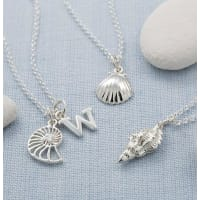 Lily CharmedShell Necklace