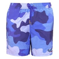 LimolandCamo Swim ShortsJamaica Blue - Small