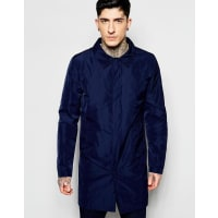 LindberghTrench Coat in Nylon - Navy