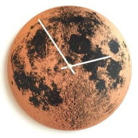 Little LarkCopper Moon ClockPatina Green