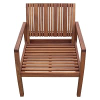 LIVINGSEEDBurki Outdoor Arm Chair