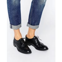 London RebelRule London Leather Brogue - Black leather