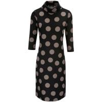 LooxentJersey-Kleid Rollkragen Looxent schwarz