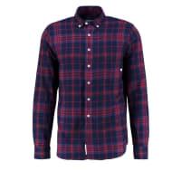 Loreak MendianMUGA Camisa informal burgundy/navy