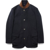 Loro PianaStorm System Brushed-cotton Jacket With Detachable Gilet - Navy