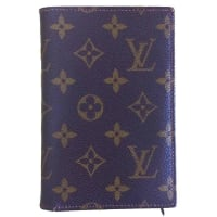 Louis Vuitton80s Vintage Louis Vuitton Brown Monogram And Leather Wallet. Classic And Unisex