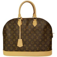 Louis VuittonAlma Monogram Bag
