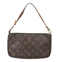 Louis VuittonBrown Louis Vuitton Monogram Pochette