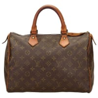 Louis VuittonBrown Monogram Speedy 30