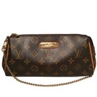 Louis VuittonMonogram Eva Pouch Handbag Purse
