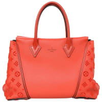 Louis VuittonRed Leather Velours W Pm Tote Bag Rt. $4,850