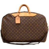Louis VuittonVintage Louis Vuitton Alize 2 Poches Monogram Canvas Travel Bag + Strap