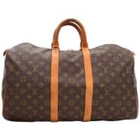 Louis VuittonVintage Louis Vuitton Keepall 45 Monogram Canvas Duffle Travel Bag