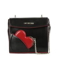Love MoschinoSchultertasche mit Spiegelanhänger