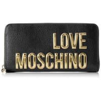 Love MoschinoJC5513, Portafogli Donna, Nero (Black), 3x11x21 cm (B x H x T)
