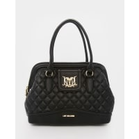 Love MoschinoQuilted Tote Bag - Black