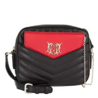 Love MoschinoShoulder Bag - Quilted Pu Nero Shoulder Bag Nero - in red, black - Shoulder Bag for ladies