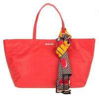 Love MoschinoShoulder Bag - Shopping Bag Monkey Rosso - in red - Shoulder Bag for ladies