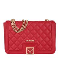 Love MoschinoShoulder Bag - Shoulder Bag Red - in red, gold - Shoulder Bag for ladies