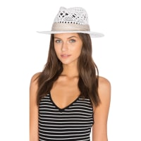 L*SpaceJet Setter Hat in White