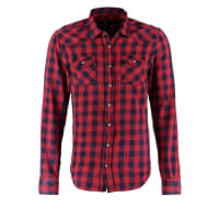 LTB JeansROHAN SLIM FIT Casual overhemd red plaid wash