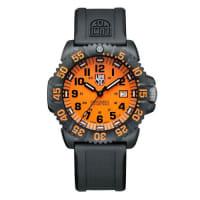 Luminox44mm Navy SEAL 3050 Series Colormark Watch, Orange