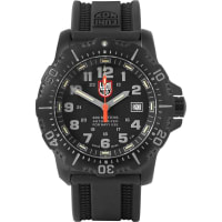 LuminoxAnu 4221 Stainless Steel And Rubber Watch - Black