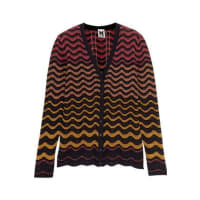M MissoniCrochet-knit Cotton-blend Cardigan - Midnight blue