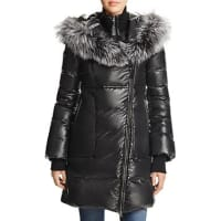 MackageLizette Fox Fur Trim Down Coat - 100% Bloomingdales Exclusive