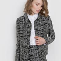Mademoiselle RKort jasje in jacquard