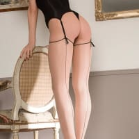 Maison CloseLes Coquetteries Back Seamed Stockings4