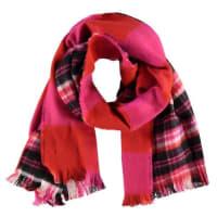 Maison ScotchMaison Scotch Double sided patterned & brushed scarf