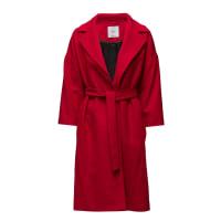 MangoBelt Wool Coat