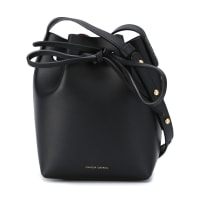 Mansur GavrielMini Mini Bucket Bag With Inside Contrasting Color