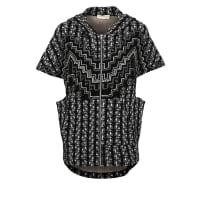 Mara HoffmanRUGS Vest black/cream