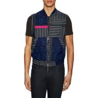 Marc JacobsPatchwork Zip Up Vest