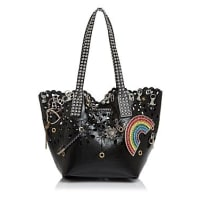 Marc JacobsWingman Laser Cut Embellished Patent Leather Tote