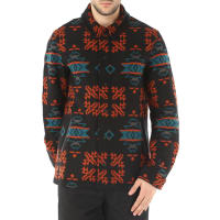 Marcelo BurlonJacket for Men On Sale, Pendleton, Black, Virgin wool, 2016, M S XL