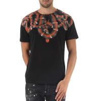 Marcelo BurlonT-Shirt for Men On Sale, Black, Cotton, 2016, L M S XL XS XXS