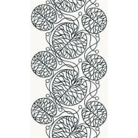 MarimekkoBottna tyg svart/vit