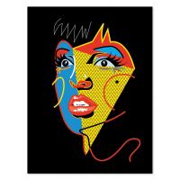 Marina EsmeraldoCabaret Print12x16 - White Frame