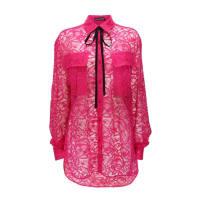 Markus LupferPink Lace Jamie Shirt
