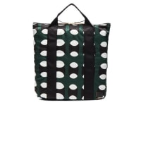 MarniPrinted Nylon Tote in Green,Abstract