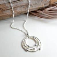 Martha JacksonSterling Silver Liquid Loops Necklace