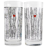 Mary Elizabeth ArtsBirch Tree Glass Set