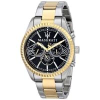 MaseratiMens R8853100008 Competizione Analog Display Quartz Two Tone Watch